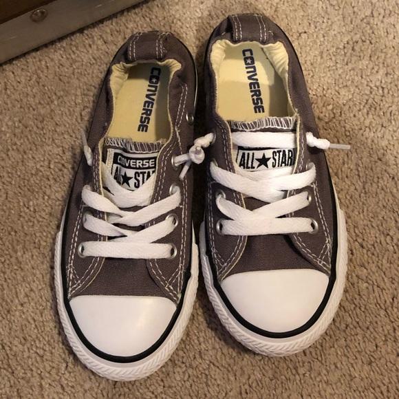 38bc301c972d Converse Other - Girls grey Converse